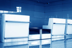 Terminal. Within a modern architectural style royalty free stock images