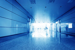 Terminal. Within a modern architectural style royalty free stock photos