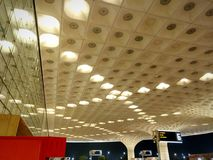 Terminal 2, Mumbai, Indien Arkivfoton