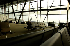terminal na lotnisku Zdjęcia Stock