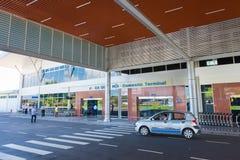 Terminal nacional del aeropuerto de Ranh de la leva, Vietnam Fotografía de archivo