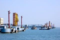 terminal naftowy Obraz Royalty Free