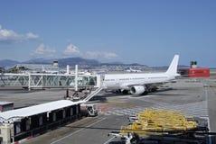 Terminal Nice à l'aéroport. Images libres de droits