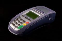 Terminal par la carte de crédit Image stock