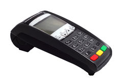 Terminal for payment cards Royalty Free Stock Photo