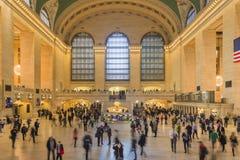 Terminal principal de Grand Central del pasillo, Nueva York Foto de archivo