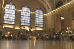 Terminal principal en la central magnífica Foto de archivo
