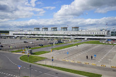 Terminal Pulkovo-1 after reconstruction. St. Petersburg Royalty Free Stock Images