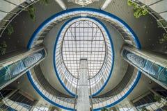 Terminal railway central Kiev Ucrânia Fotografia de Stock