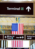 Terminal Sign Royalty Free Stock Images