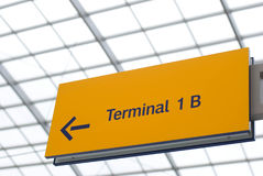 Terminal sign Royalty Free Stock Photos