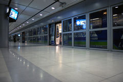 Terminal station of Suvarnabhumi Airport Rail Link Stock Images