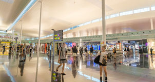 Terminal T1 of El Prat-Barcelona airport Royalty Free Stock Images