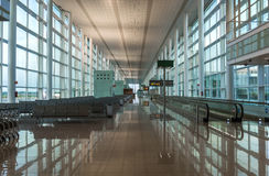 Terminal T1 of El Prat-Barcelona airport Stock Photos