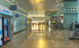 Terminal T1 of El Prat-Barcelona airport Royalty Free Stock Photos
