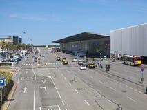 Terminal T1 of El Prat-Barcelona airport. Spain Stock Image