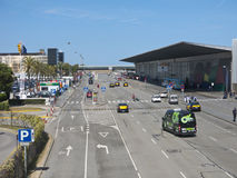 Terminal T1 of El Prat-Barcelona airport. Spain Stock Photos