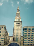 Terminal Tower in Cleveland Royalty Free Stock Image