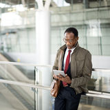 Terminal Transport Travel Urban Overcoat City Concept Royalty Free Stock Image