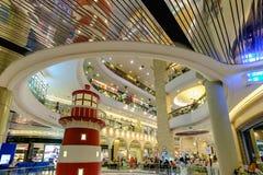 Terminal 21, un du grand centre commercial Images libres de droits
