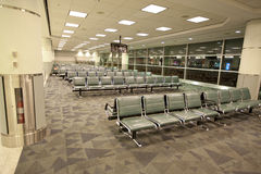 terminal vänta för flygplatsområde Royaltyfria Foton