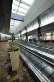 Terminal 1 w Changi lotnisku, Singapur Zdjęcia Royalty Free
