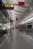 Terminal A at Washington Dulles airport Royalty Free Stock Photography