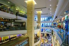 Terminal 21 zakupy centrum handlowego odgórny widok z wiele ludźmi inside Zdjęcia Stock