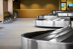 Terminale del bagaglio dell'aeroporto Immagine Stock