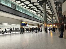 Terminale 5 del Heathrow Immagine Stock