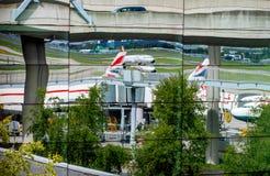 Terminale 5 del Heathrow Fotografia Stock Libera da Diritti