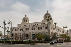 Terminale dell'ufficio postale degli Stati Uniti, Los Angeles California fotografia stock libera da diritti