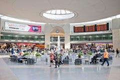 Terminale della conduttura dell'aeroporto di Ben Gurion fotografie stock libere da diritti
