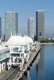 Terminale della nave da crociera di Miami Fotografia Stock
