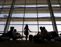 Terminale di aeroporto 3 fotografia stock