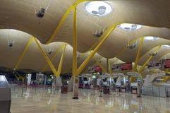 Terminale di aeroporto dell'interno Fotografie Stock Libere da Diritti