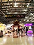 Terminale di partenza con il padiglione tailandese Immagini Stock