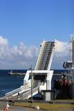 Terminale di traghetto fotografie stock libere da diritti