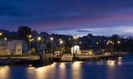 Terminale di traghetto di Molde immagini stock