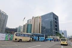 Terminale di traghetto di Xiamen Fotografia Stock Libera da Diritti