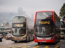 Terminale di Tsim Sha Tsui Bus fotografia stock libera da diritti