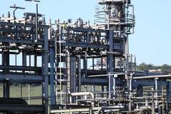 Terminale E del gas Fotografia Stock