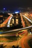Terminale e strade principali del carico Fotografia Stock Libera da Diritti