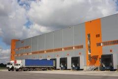 Terminale logistico Fotografie Stock