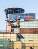 Terminale 2 nel tramonto Fotografia Stock Libera da Diritti