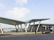 Terminale su Lido, Venezia di Vaporetto Fotografie Stock Libere da Diritti
