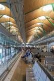 Terminale T4 di Madrid Barajas fotografia stock