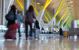 Terminale T4, nell'aeroporto del Barajas, Madrid. Fotografia Stock