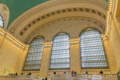 Terminale tre Windows di Grand Central Fotografia Stock