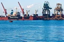 Terminale verso il mare aperto, l'Italia. Immagini Stock